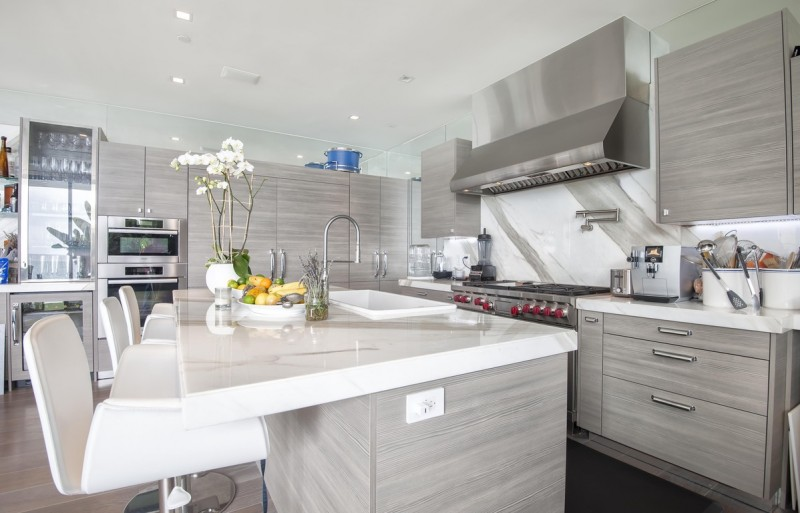 Malibu modern beach house multi million dollar listing Kitchen design center virginia beach