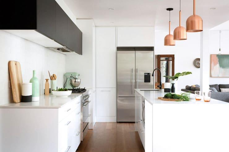 Caesarstone kitchen counters 6 chic design looks cococozy for Scandinavian design reno