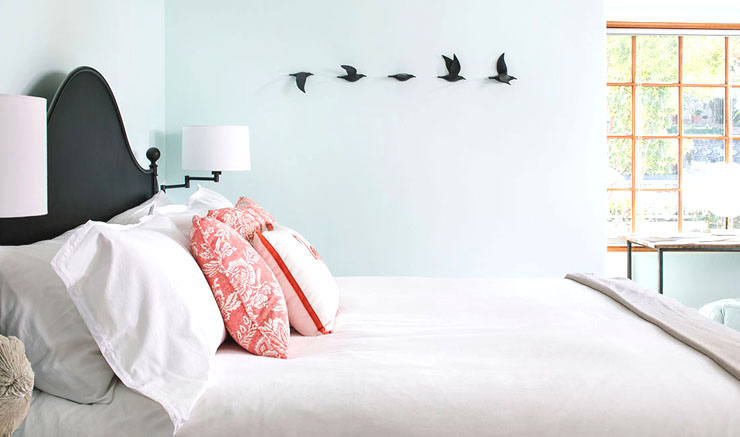 Beach House Remodel - Before and After bedroom