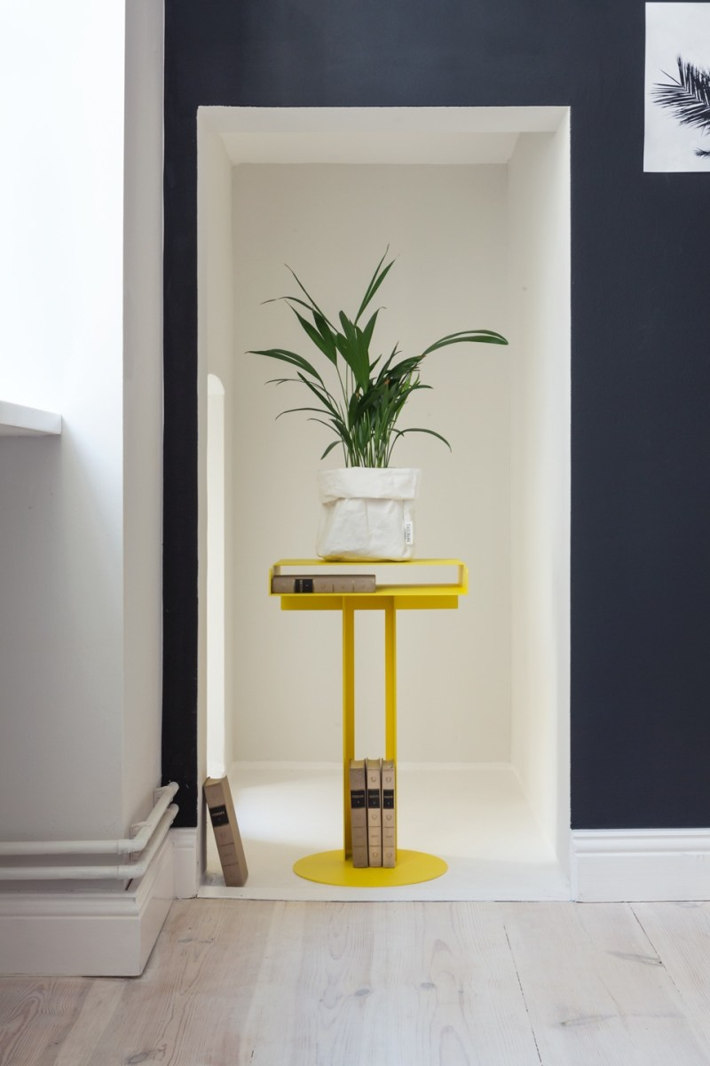 Yellow home design ideas pedestal