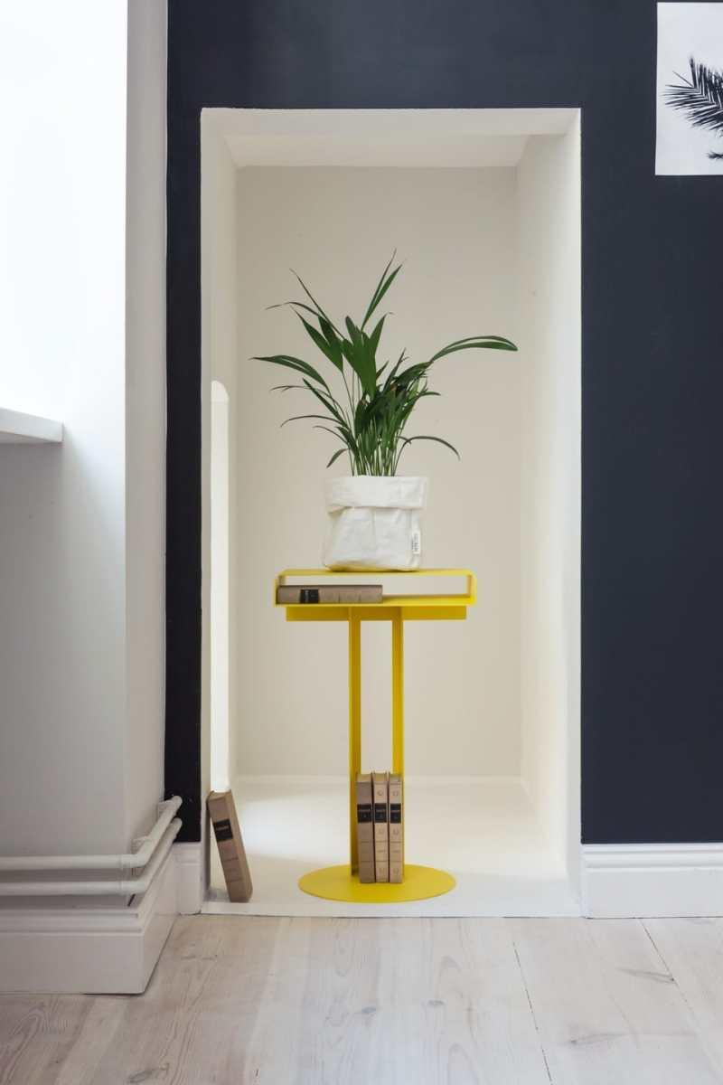 Yellow home design ideas pedestal
