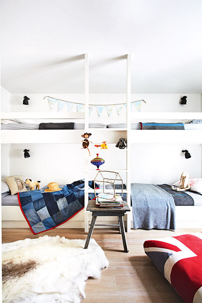 beach house bunk room bunkbeds bedroom bed cococozy home life au