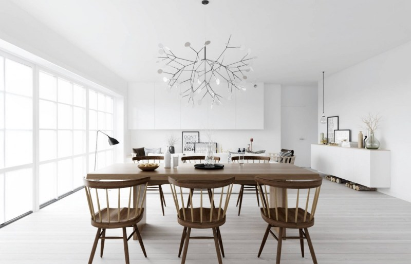 heracleum pendant light dining room cococozy homestyler