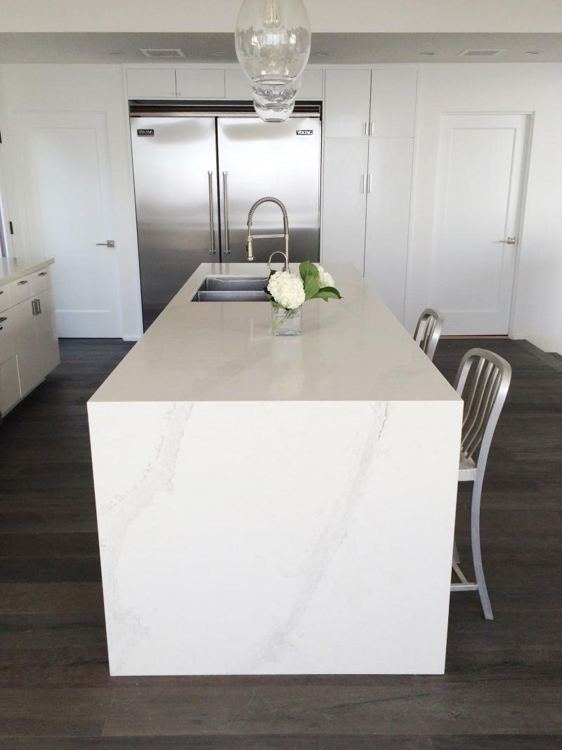 Caesarstone Calacatta Nuvo Kitchen Counters Cococozy