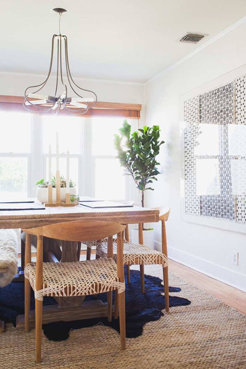 Dining Room Makeovers Rumi Neely Fashion Toast