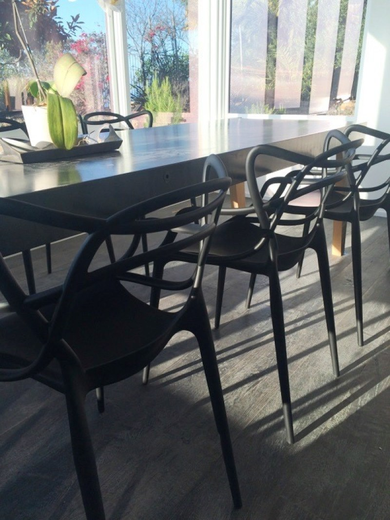 Philippe Starck Masters Chair dining room