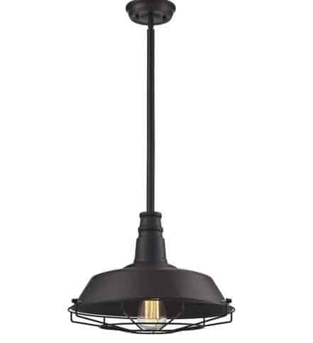 Black Pendant Lights Bronze