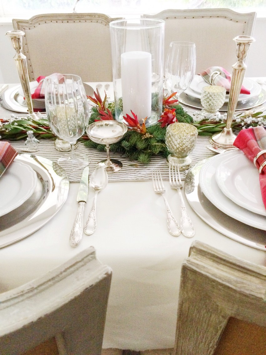Christmas Tabletop Centerpiece