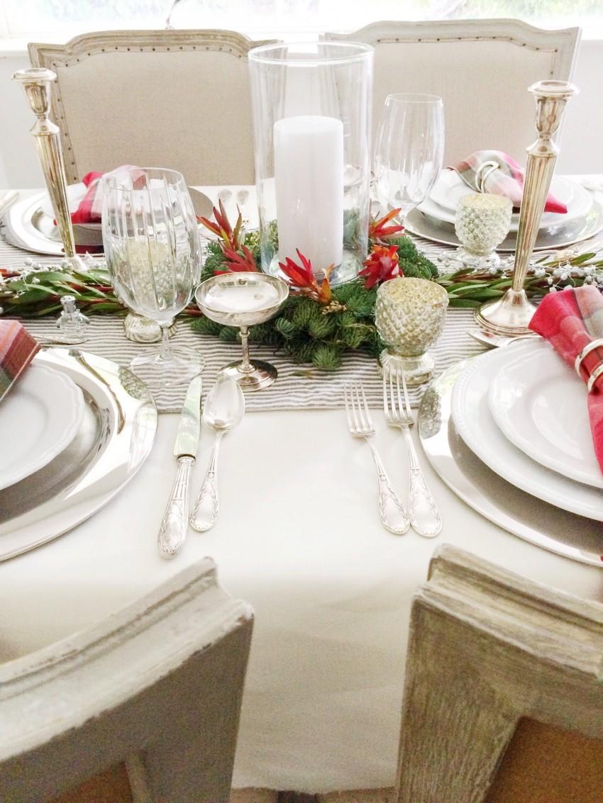 Christmas Tabletop Centerpiece