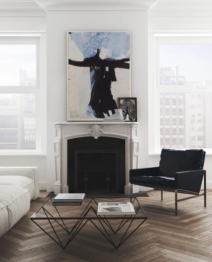 herringbone wood floors perfected apartment tour cococozy
