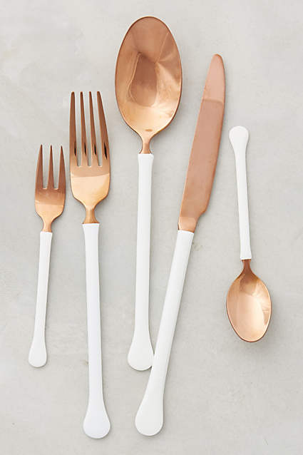 Copper Top Flatware - Anthropologie