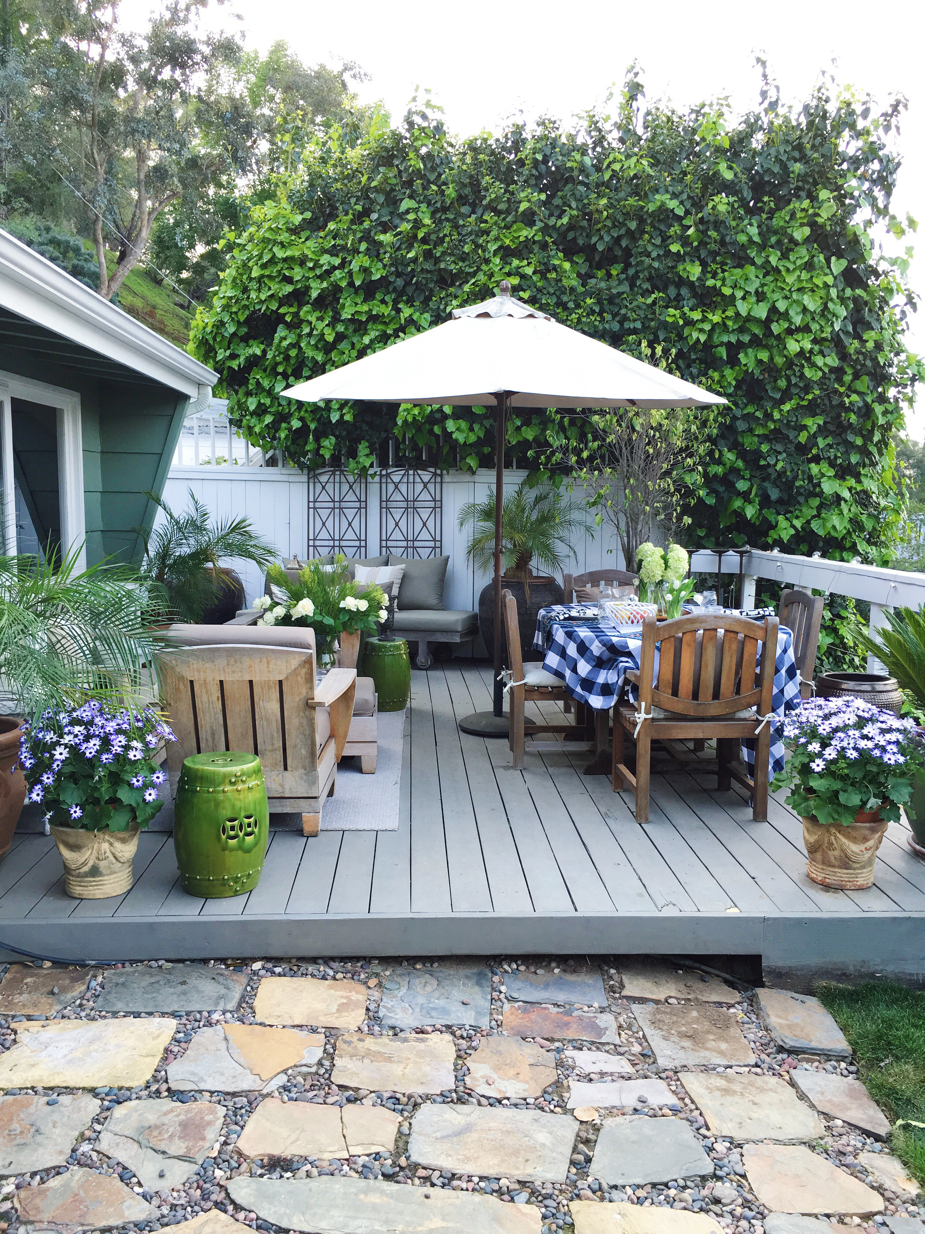 Deck Makeover March 2016
