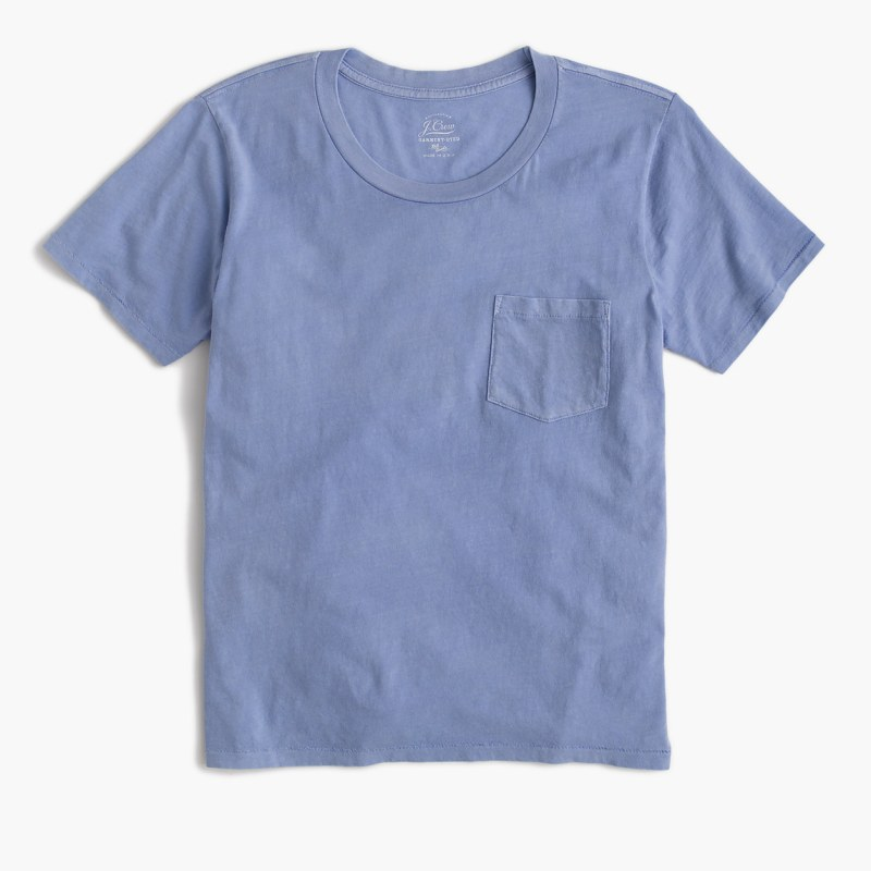 Dyed-Blue-Tee-J.Crew