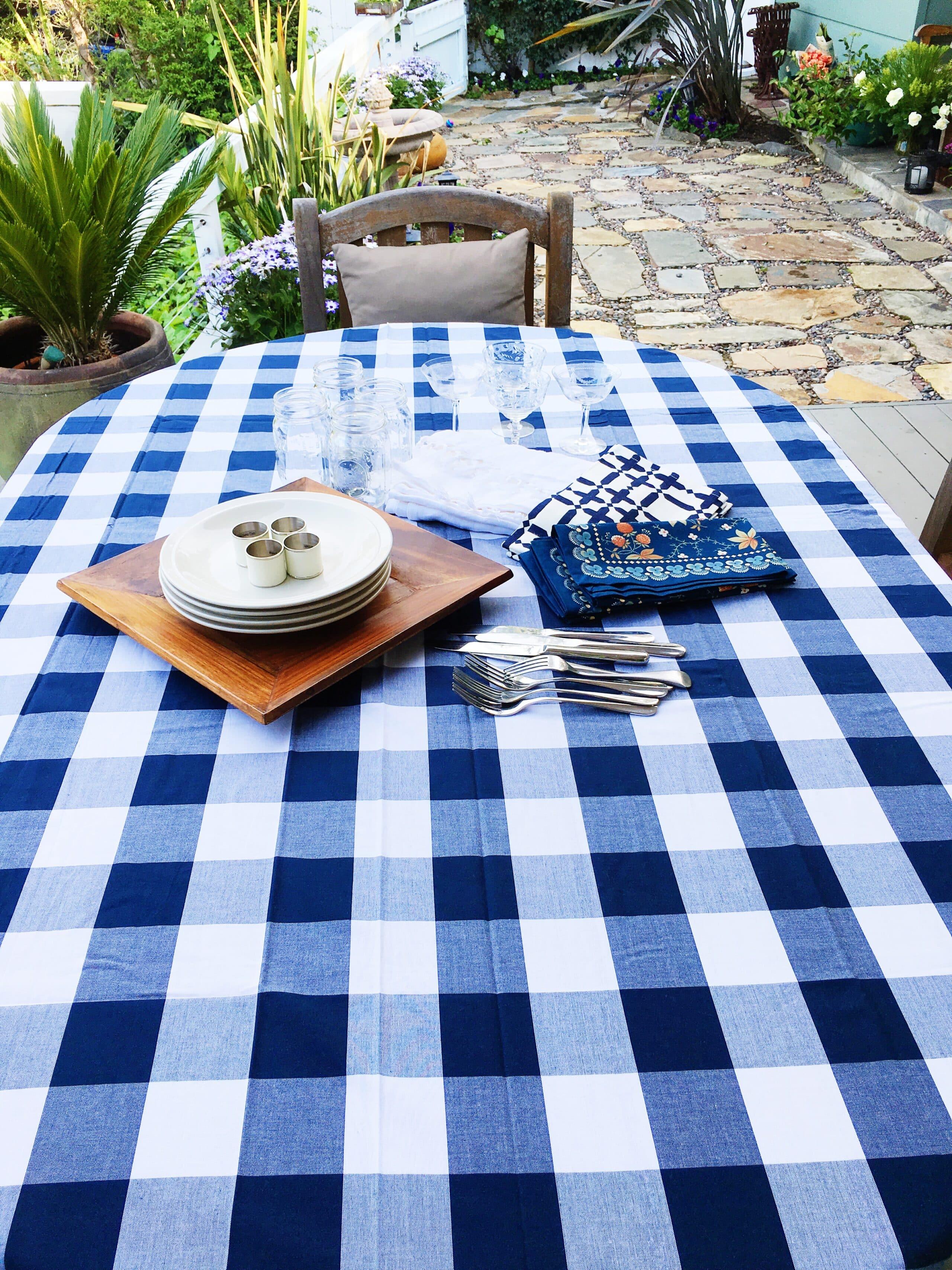 Buffalo plaid Tablecloth