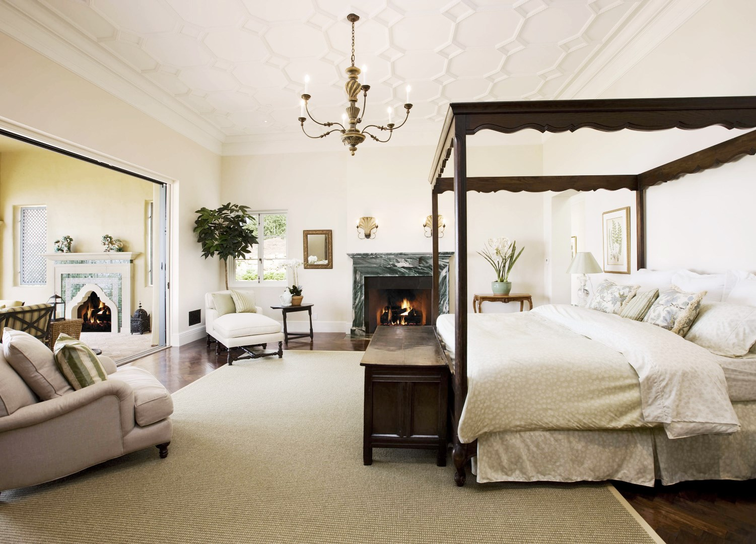 Master Bedroom Canopy Bed