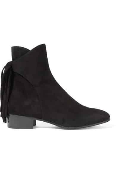 Chloe Fringed Ankle Booties, $995.