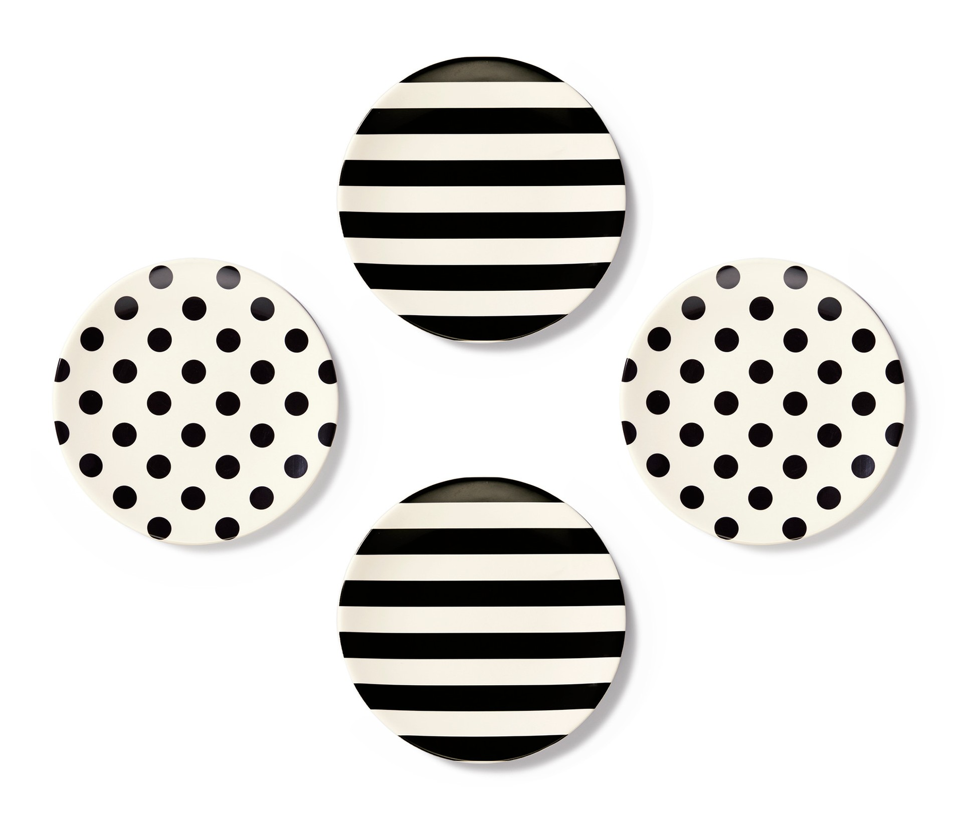 Kate-Spade-Tid-bits-Black-White-Melamine-Plates-  sc 1 st  Cococozy & 11 Melamine Plates | COCOCOZY