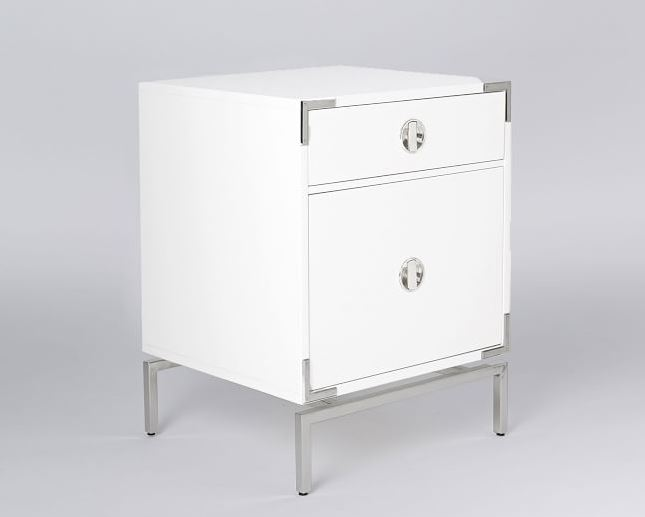 White Night Stands Full Size Of Bedroom Washed Wood Nightstands Narrow Bedside Table Small 2