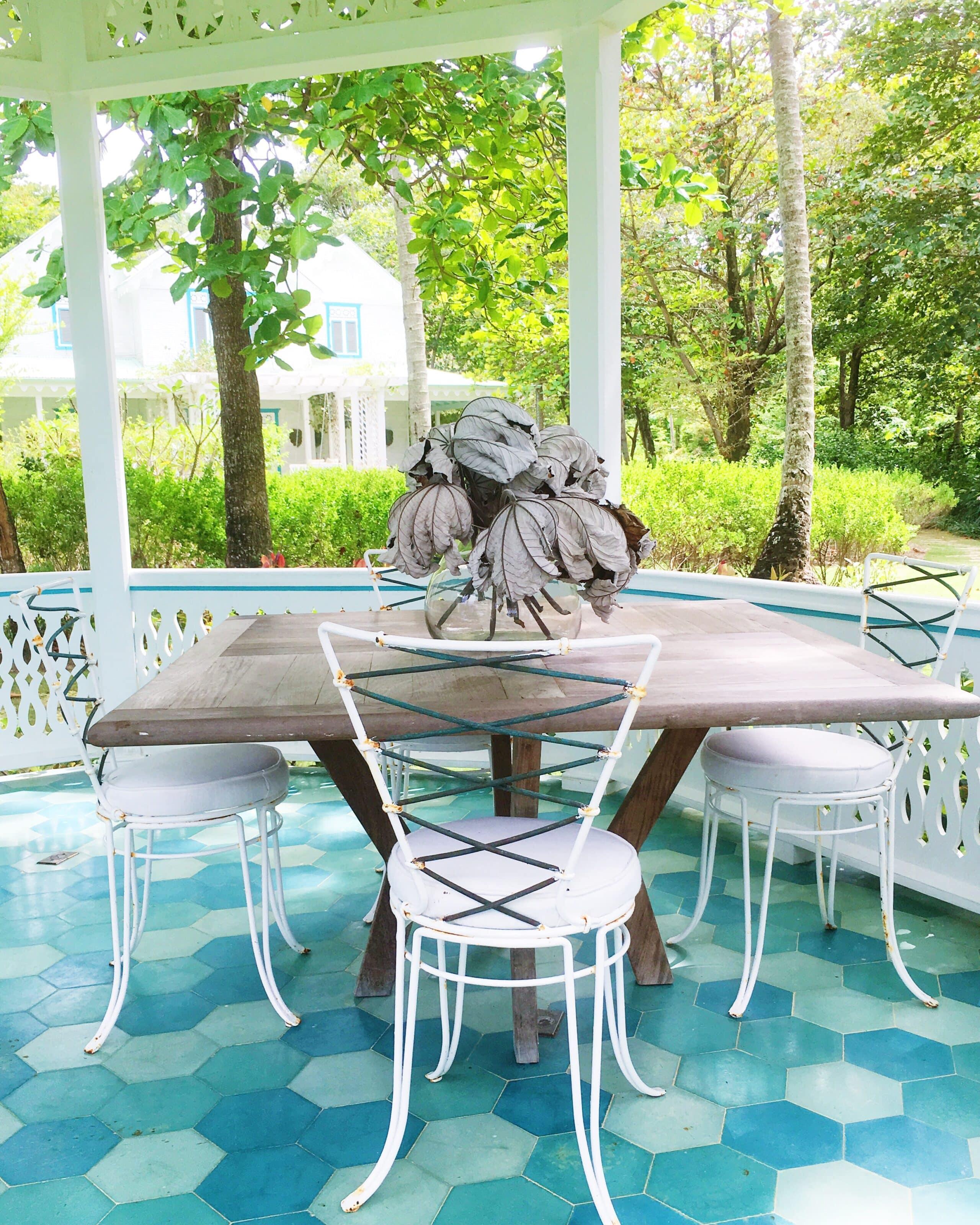 Cement Tiles Porch