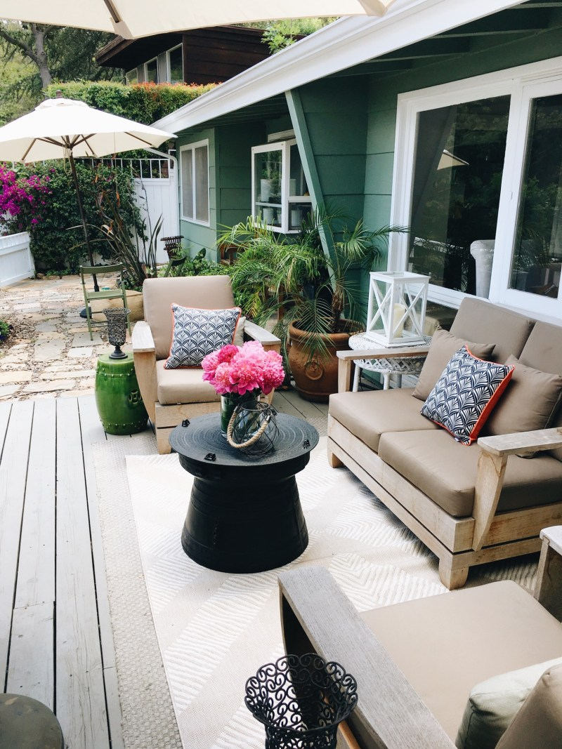 Sunday Brunch Target Style Home Deck