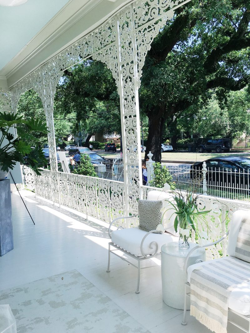 New Orleans Moments Southern Style Now Front Porch