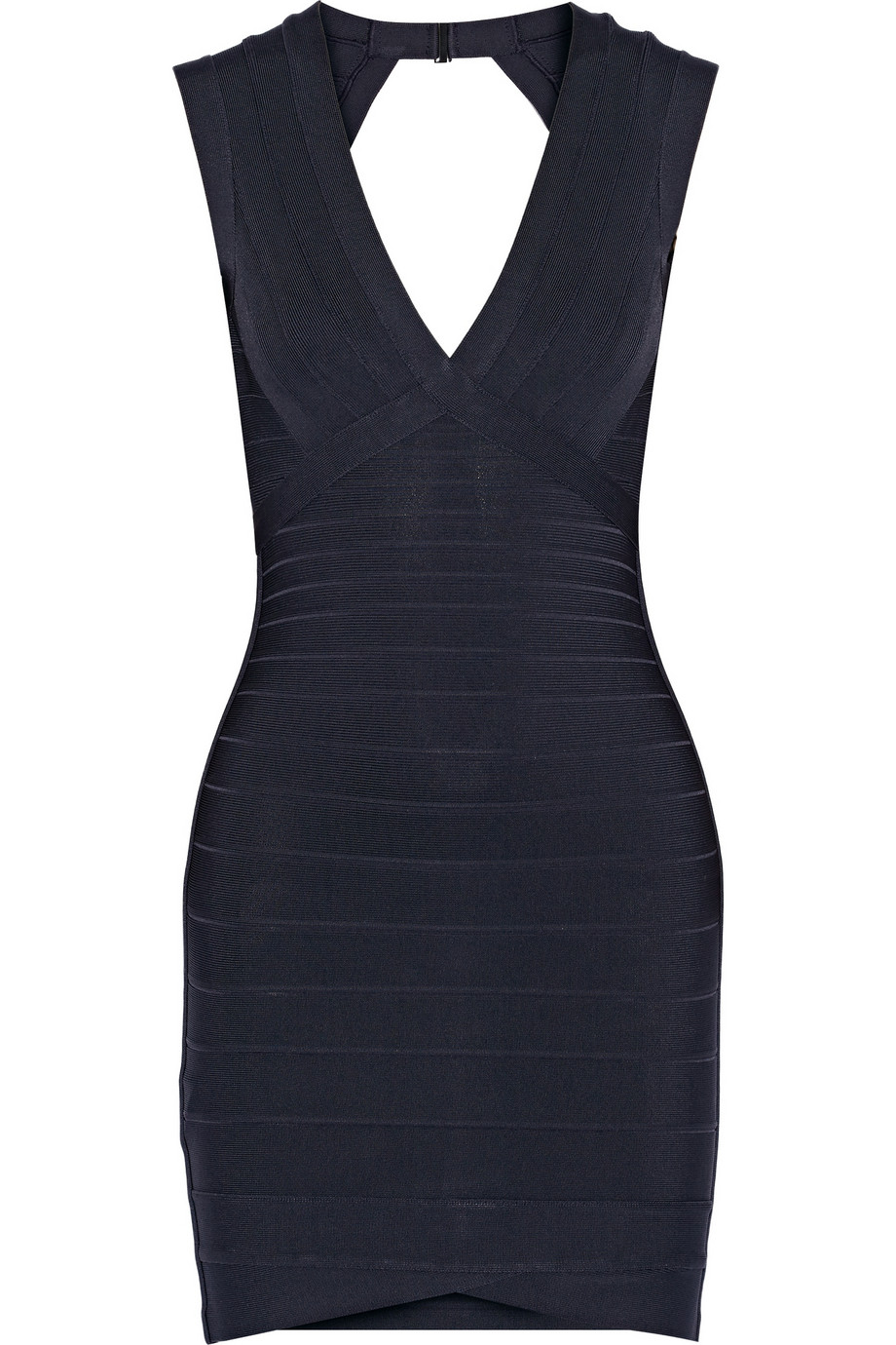 Little Blue Dress Herve Leger Bandage Mini