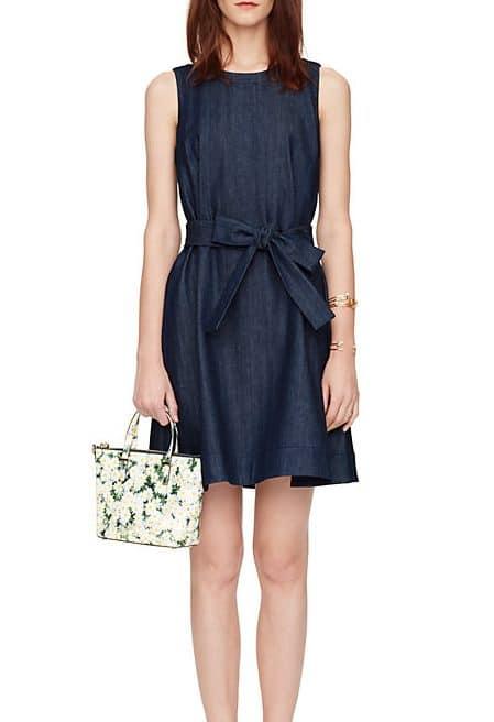 Kate Spade Blue Denim Dress
