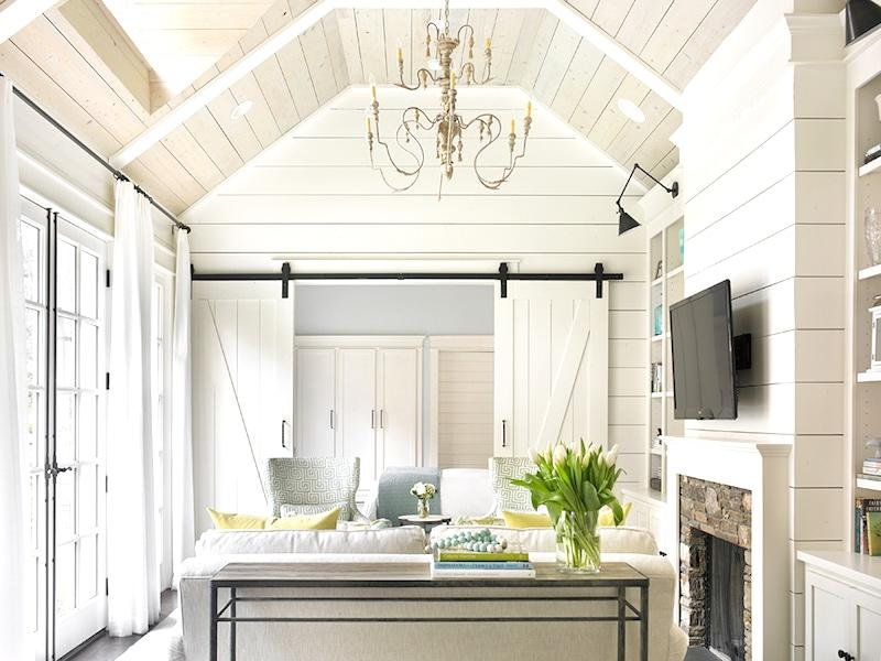 White Barn House Living Room
