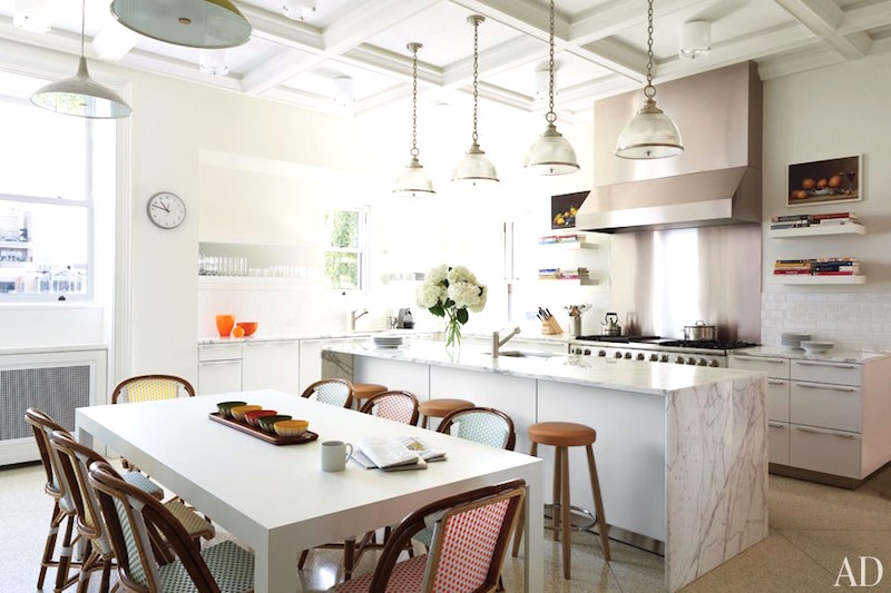 Bright White Kitchens New York