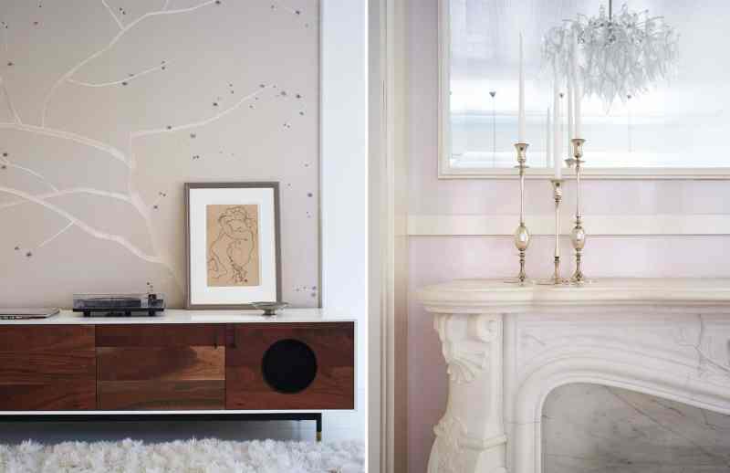 Gwyneth Paltrow's New York City apartment living room