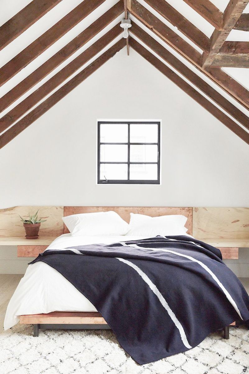 A Frame Ceilings Exposed Beam Bedrooms