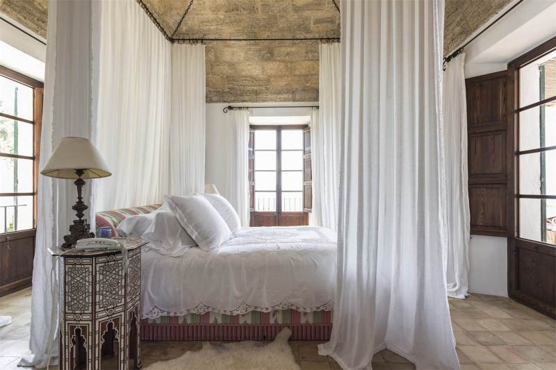 beautiful beds canopy bed spain