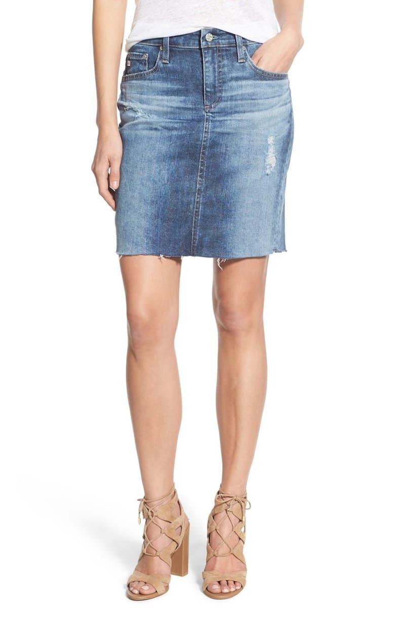 5 denim skirts fashion finds cococozy