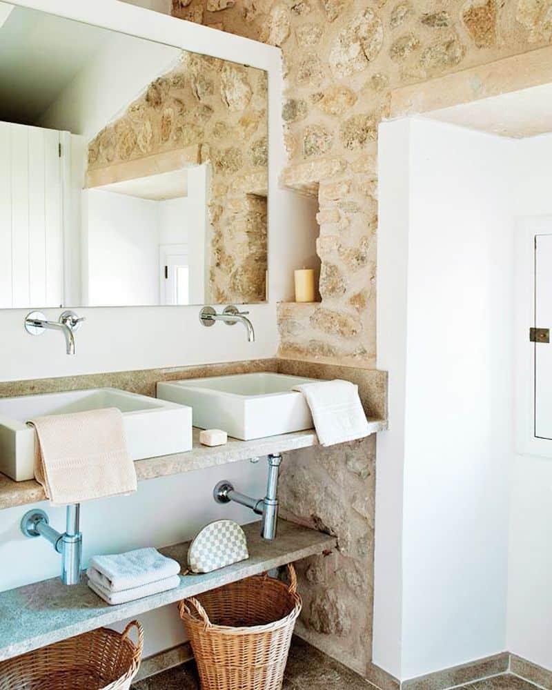 Gorgeous Spanish Stone Villa - Mallorca Spain House Tour | COCOCOZY