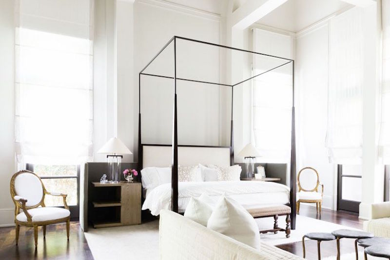 Alyssa Rosenheck Romantic Beds Four Post Canopy