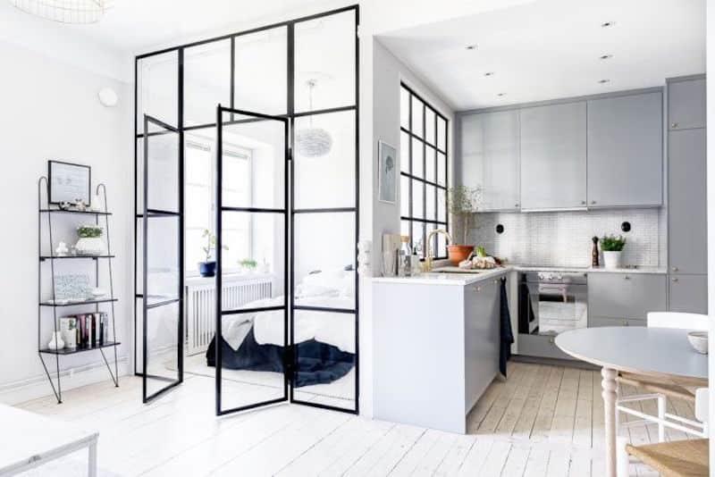 Compact Quarters Chic Swedish Apartment