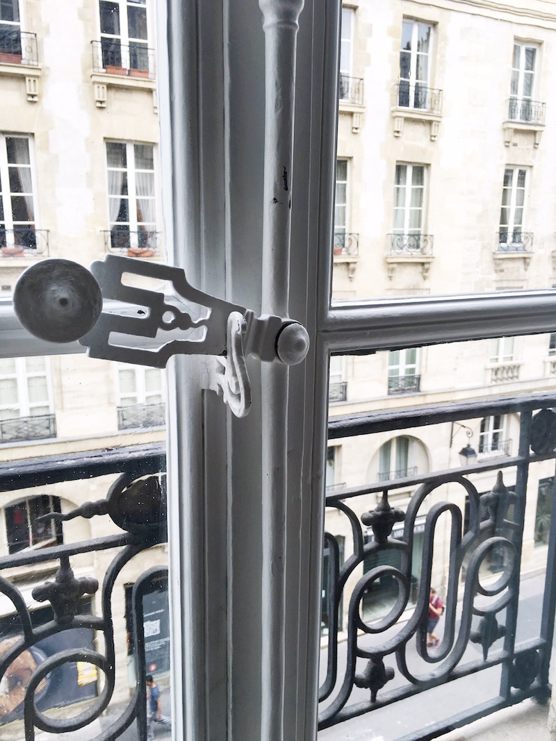 Paris Apartment Window Latch