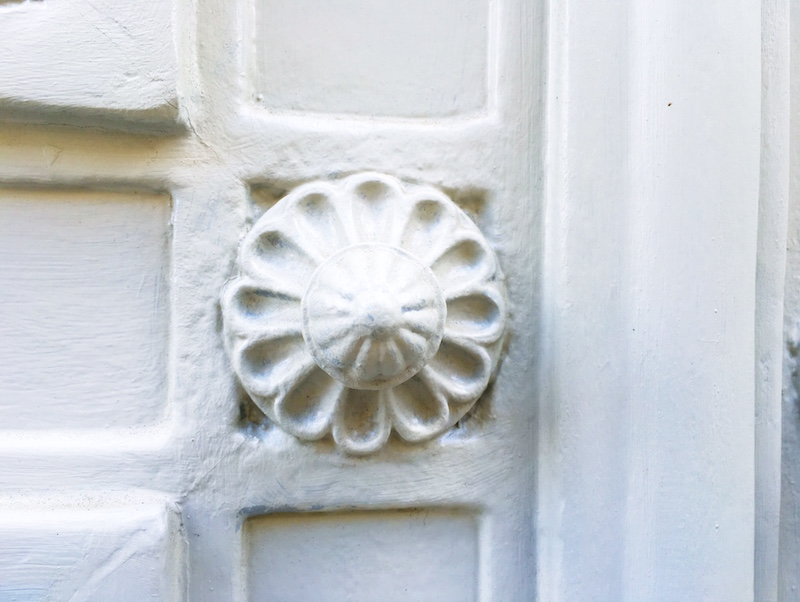 White Paris Door Knob
