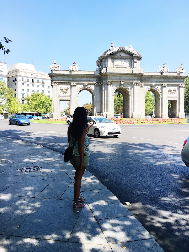 Retiro Park Puerta de Alacala