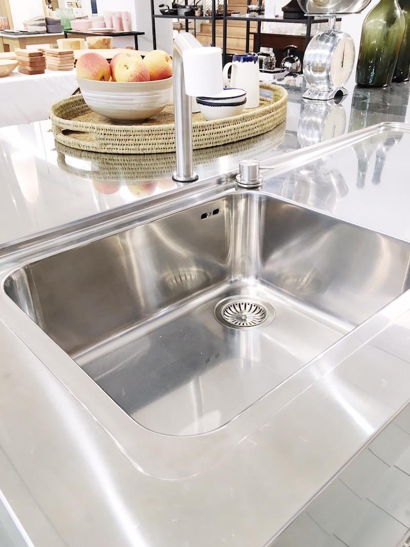 all in one kitchen island sink