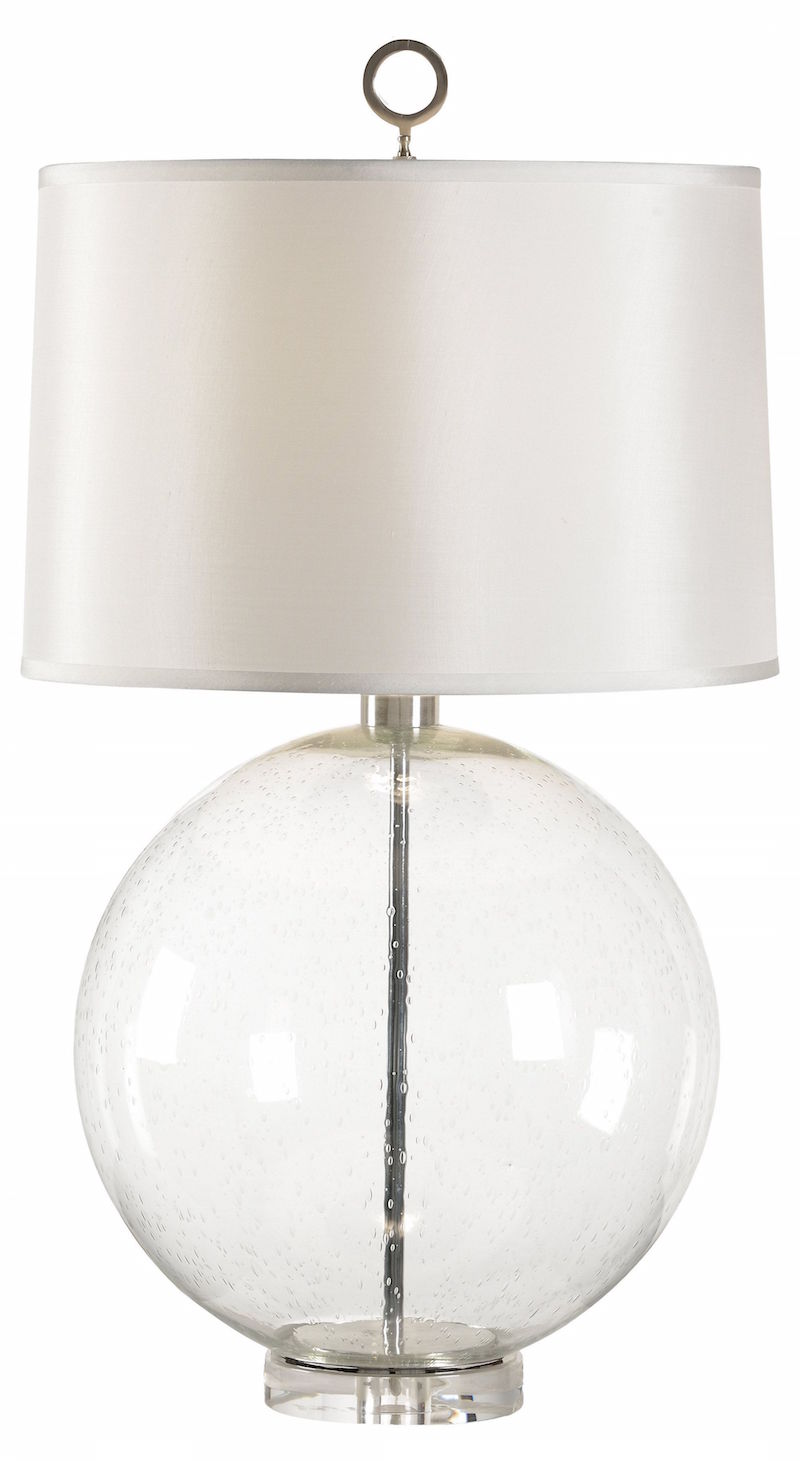 Great Milky White Table Lamp round glass white table lamp