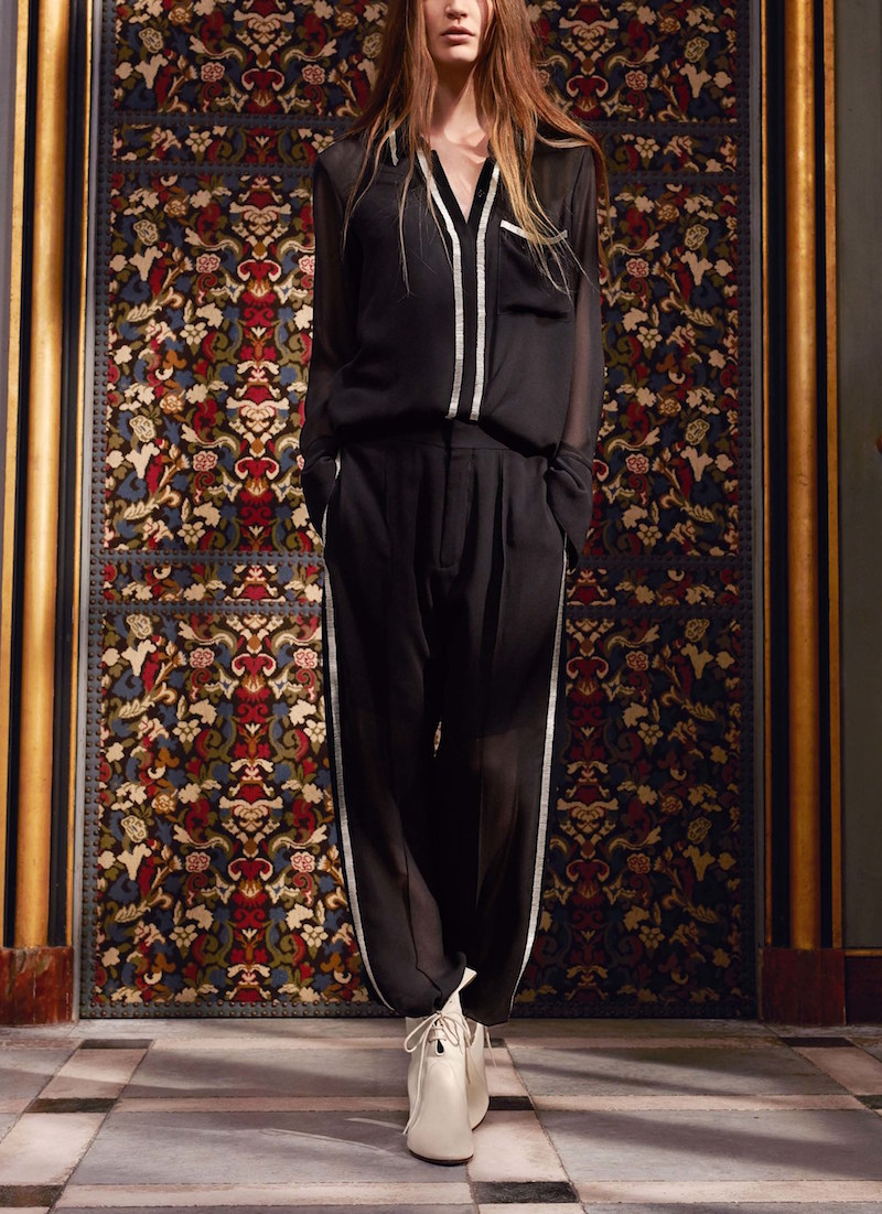 chloe pre fall track suit