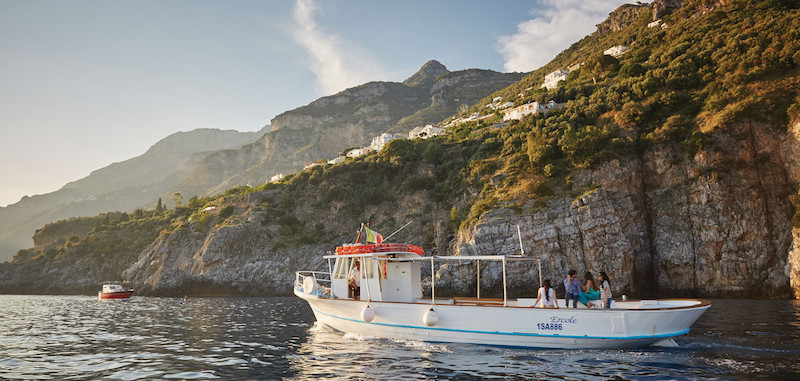 amalfi coast ocean excursion italy boat