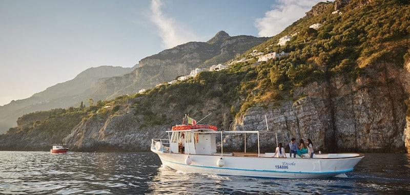 amalfi coast ocean excursion italy boat