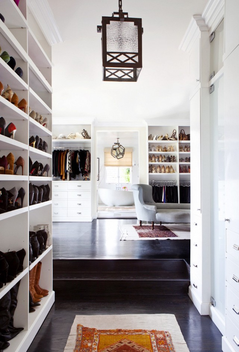 estee stanley walk in closets