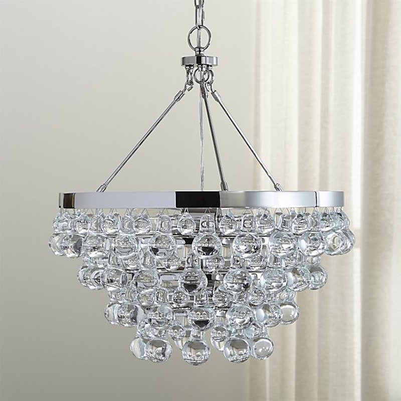 Amazing  ochre knock off chandelier