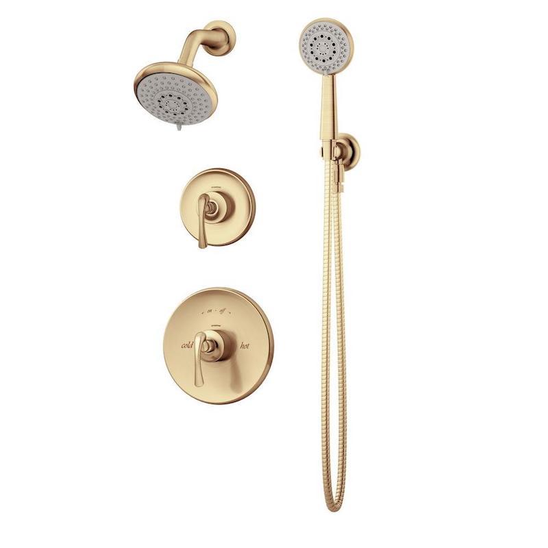 gold shower head boho bathroom home depot