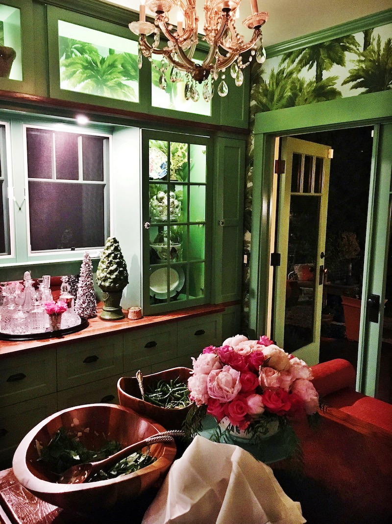 Venice Beach cottage dining room