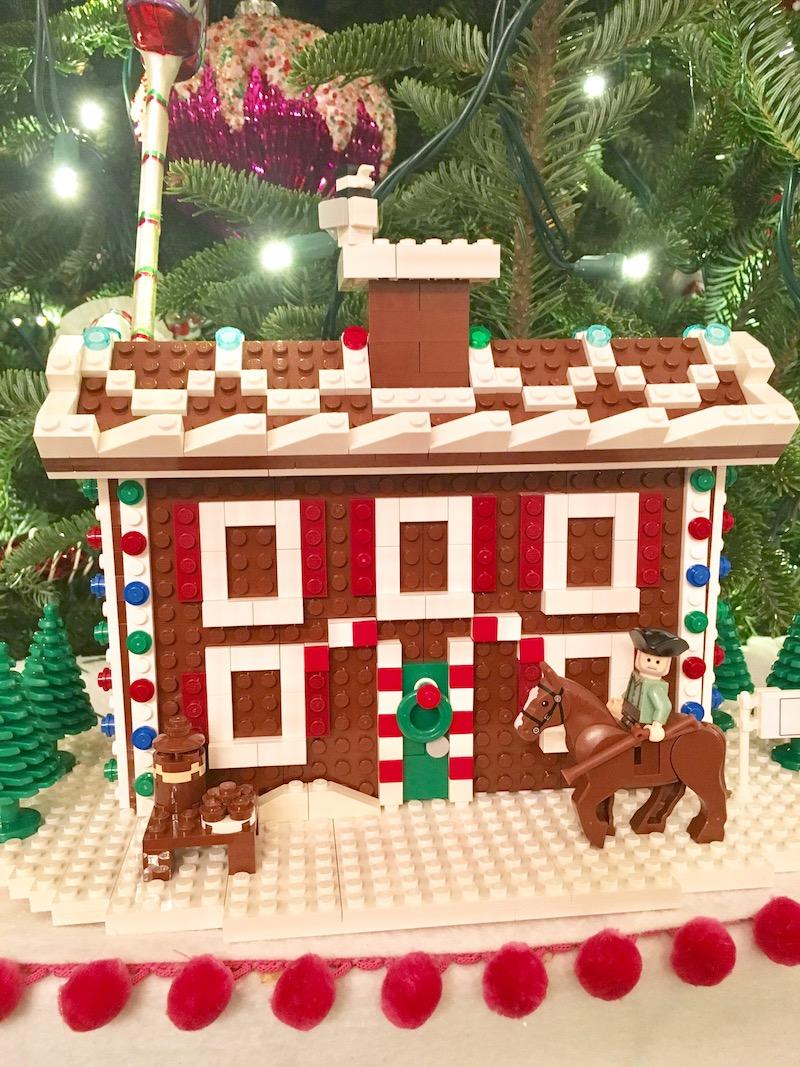 white house holidays lego house