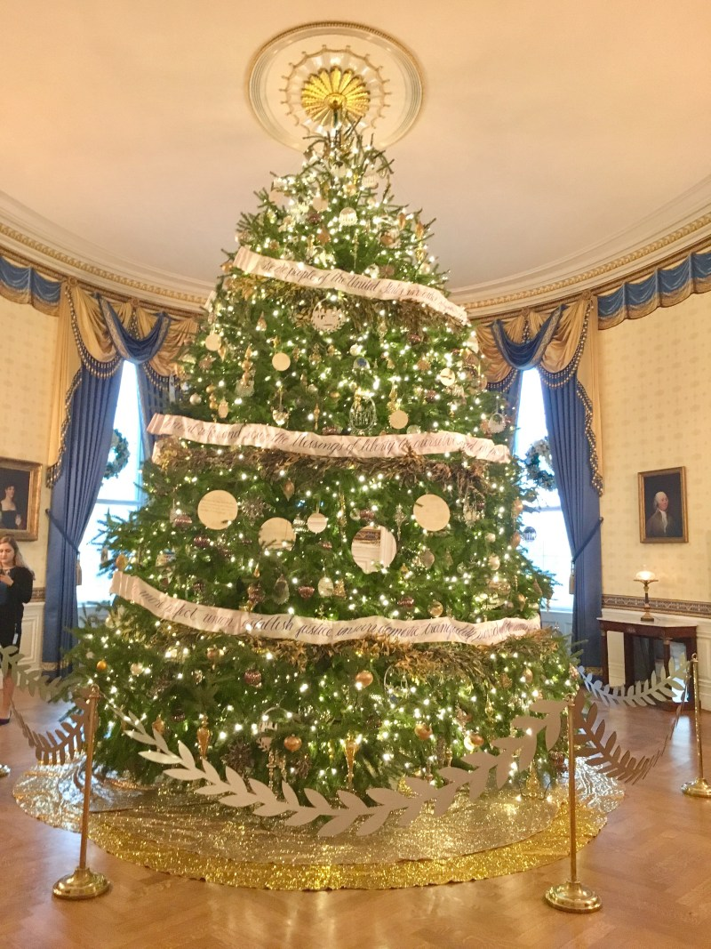 white house holidays official christmas tree